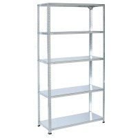 bolted-metal-shelving-5-levels-galva-3-4